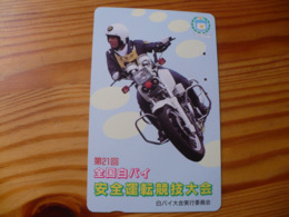 Phonecard Japan 110-011 Motorbike - Japan