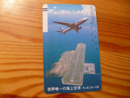 Phonecard Japan 110-17402 Airplane - Japan