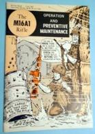 Vietnam War M16 Rifle Gun Manual Military Guide U S Army Will Eisner Booklet Book - Forces Armées Américaines