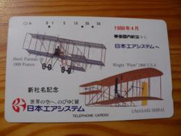Phonecard Japan 330-15528 Airplane - Japan