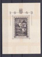 Croatia - 1943 Year - Michel Bl 6 - MH - Kroatien