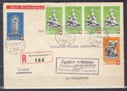 Reccomandée Brief Van Kreuzlingen Naar Norge - Suisse