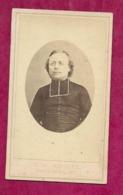 PHOTO CDV Circa 1871 Second Empire De A. JOSSE à PARIS (75). Révérend Père RADIGUE De Picpus, Mort 26 Mai 1871..2 Scans - Photos