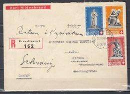 Reccomandée Brief Van Kreuzlingen Naar Kiruna Norge - Switzerland