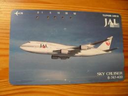 Phonecard Japan 110-98686 Airplane - Japan
