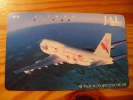 Phonecard Japan 110-188019 Airplane - Japan