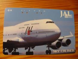 Phonecard Japan 110-203360 Airplane - Japan