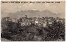 Panorama Di MONTELUNGO (Pontremoli) - Stazione Climatica - Italy