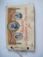 Souvenir De L'exposition De Bruxelles 1910 - 23 Photos Imprimé KAESER MOILLIET A BERNE SUISSE - Historical Documents