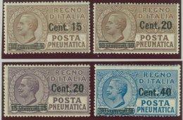 ITALIA REGNO VITTORIO EMANUELE III SASS.  P. PN. 4-7 NUOVI - Posta Pneumatica