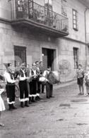 1965 FOLCLORE GAITEROS GALLEGOS PONTEVEDRA GALICIA ESPANA SPAIN ESPAGNE AMATEUR 35mm ORIGINAL NEGATIVE Not PHOTO No FOTO - Photography