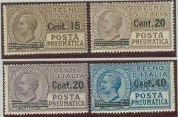 ITALIA REGNO VITTORIO EMANUELE III SASS.  P. PN. 4-7 NUOVI - 1900-44 Victor Emmanuel III.