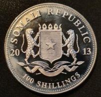 "Somalia 100 Shillings 2013 ""African Elephant"" - Somalia"