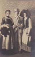 AK Foto Mann Und 2 Frauen In Kostümen - Rotenfels 1910 (44492) - Théâtre