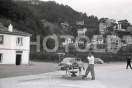 1965 OPEL MONTE IGUELDO CATALUNYA ESPANA SPAIN ESPAGNE AMATEUR 35mm ORIGINAL NEGATIVE Not PHOTO No FOTO - Photography