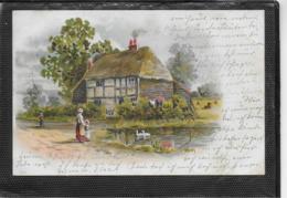 AK 0341  Bauernhof-Idylle - Künstler-Lithographie Um 1901 - Gruss Aus.../ Grüsse Aus...