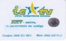 TARJETA UCRANIA DE 1680 UNITS DE IC-TV - Oekraïne
