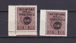 Croatia - 1941 Year - Michel46UR+46SR - MNH - Croacia