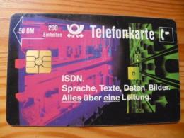 Phonecard Germany P 03 B 9.89. 100.000 Ex. - P & PD-Reeksen : Loket Van D. Telekom