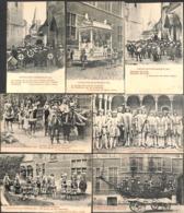 Cavalcade D'Hanswijck 1913 - Lot 7 PK's (top Animatie, Uitg. H. Dierickx-Beke) - Mechelen