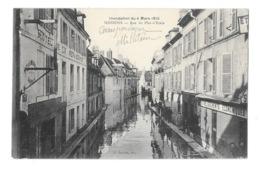 (25095-02) Soissons - Rue Du Plat D'Etain - Inondations Du 4 Mars 1910 - Soissons