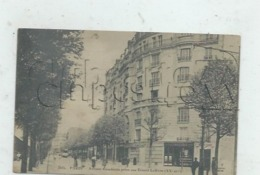Paris 20 ème Arr (75) : MP Du Magasin De Confiserie De L'Avenue Gambetta Pris De La Rue Ernest Lefèvre En 1910 (animé)PF - Arrondissement: 20