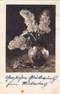 AK Vase Mit Flieder - Werbestempel Mit Dem Führer Zum Sieg 1942 (44496) - Blumen