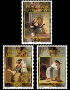 Liechtenstein 2017 - Princely Treasures - Peter Fendi (1796-1842) Stamp Set Mnh - Ungebraucht