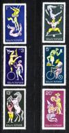 Bulgaria  - 1969.  Circo. Circus. Complete Very Fresh MNH Series - Circus
