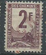 Timbre Colis Postaux 1944 Yvt N° 2 - Afgestempeld