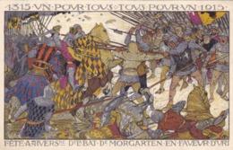 Belgique - 1315 UN Pour Tous - Tous Pour UN 1915 - Fête D'Anvers - Belgique