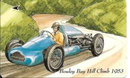 CARTE-MAGNETIQUE-GB-2£-BOULEY BAY HILL CLIMB1953-COURSE AUTOMOBILE-TBE - Verenigd-Koninkrijk