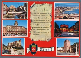 °°° Cartolina - Trieste Vedute Viaggiata °°° - Trieste