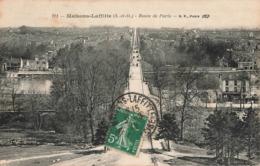 78 Maisons Laffitte Route De Paris Cachet 1912 - Maisons-Laffitte