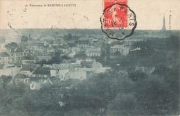 78 Maisons Laffitte Panorama Cachet Convoyeur Ambulant Mantes à Paris 1910 - Maisons-Laffitte