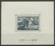 Spanien 1938 Seeschlacht V. Lepanto 1571 Block 12A Postfrisch (C91710) - Blocs & Hojas