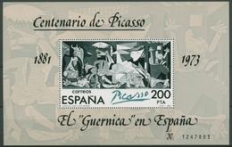 Spanien 1981 100.Geburtstag V. Pablo Picasso Block 23 II. Postfrisch (C91700) - Blocs & Feuillets