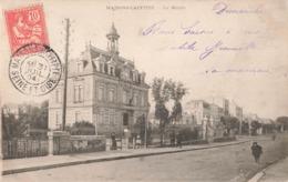 78 Maisons Laffitte La Mairie Timbre + Cachet 1904 - Maisons-Laffitte