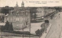 78 Maisons Laffitte Panorama La Mairie Eglise Avenue Longueil - Maisons-Laffitte