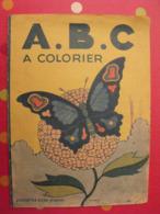 ABC à Colorier (coloriages Faits !). Jourcin. éditions Bias Paris 1946. Abécédaire Alphabet - Bücher, Zeitschriften, Comics