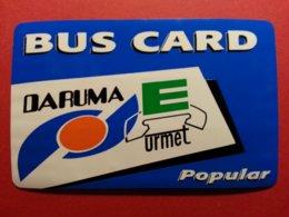 BRESIL BUS CARD BLUE Daruma URMET 10u Telephone Test Inductive BRASIL Mint Unused Neuve (BA1019 - Brazilië