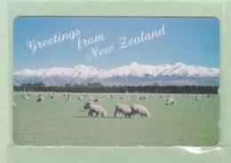 Japan - Sold Only In New Zealand - Aotea NZ Souvenirs - 1993 Sheep & Alps 50u (1) - Mint - NZ-J-10Sb - Nieuw-Zeeland