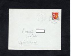 LSC 1965 - Cachet Perlé - ST LAURENT LA VERNEDE  (Gard)  Sur YT 1353A - Storia Postale