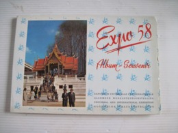 Carnet Album Souvenir Exposition Universelle Et Internationale De Bruxelles 1958 Expo 58 56 Images - Obj. 'Remember Of'