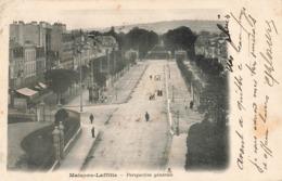 78 Maisons Laffitte Perspective Générale Cachet 1904 - Maisons-Laffitte