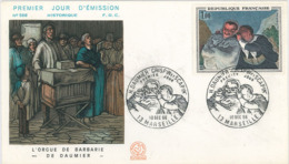 "H. Daumier Crispin & Scapin - 13 Marseille ""Der Flüsterer"" 1966 - Famous People"