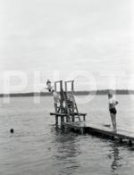 1965 PRAIA FLUVIAL  MINHO PORTUGAL AMATEUR 35mm  ORIGINAL NEGATIVE Not PHOTO No FOTO - Photography