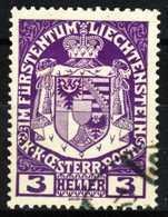 LIECHTENSTEIN 1917 Nr 4 Gestempelt X16B51E - Gebraucht