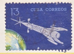 CUBA  881  (o)  SPACE - Cuba
