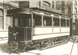 PHOTO TRAMWAY GARE MONTPARNASSE PLACE PEREIRE PARIS - Trenes